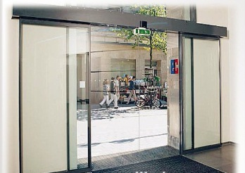 Op rateur automatique fut extr mit lev commercial de for High end exterior doors